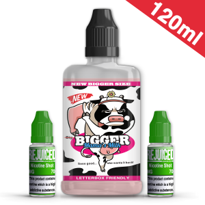 120ml Bigger Mama's Milk Shortfill