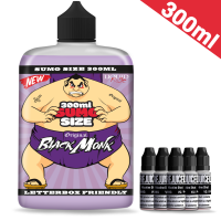 300ml Black Monk - Sumo Size Shortfill