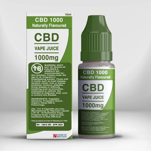 1000mg CBD Vape Juice